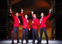 Sam Ferriday, Matt Corner, Stephen Webb and Lewis Griffiths in Jersey Boys. Pic: Helen Maybanks