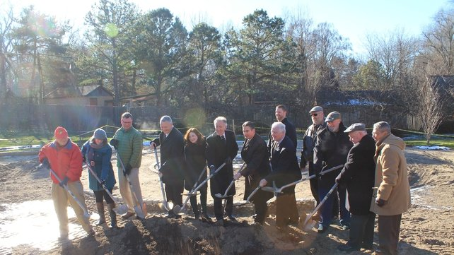 Congressman Richard Neal broke the ground on the development which will be located in Springfield, Massachusetts