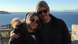 Amy Schumer and boyfriend Ben Hanisch, photo credit Ben Hanisch/Instagram
