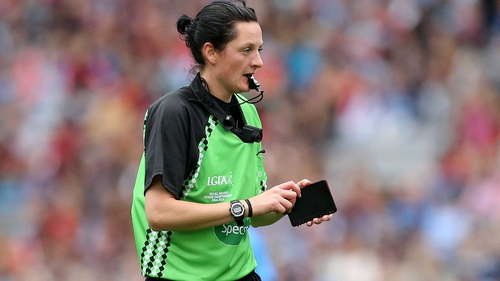 Maggie Farrelly will take charge of the McKenna Cup clash between Fermanagh and St Mary's