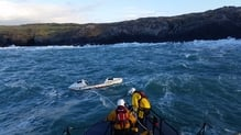 RNLI crew towed 'Happy Socks'  to Castletownbere