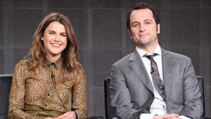Keri Russell and Americans co-star Matthew Rhys