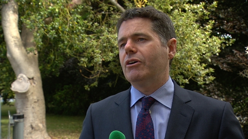 Paschal Donohoe said the Government needs to look at reforming workplace relations bodies