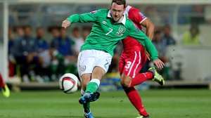 Aiden McGeady has played 85 times for Ireland