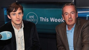 Colm Ó Mongáin and Richard Crowley from RTÉ's This Week