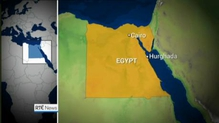 Suspected gunman killed and two tourists injured in an attack on a hotel in Egypt