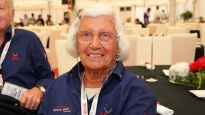 Motorsport trailblazer Maria De Filippis pictured in 2013