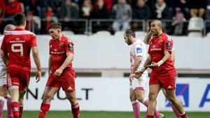 Much disappointment for simon Zebo and his Munster colleagues