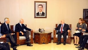 The Syrian government told UN envoy Staff an de Mistura it was ready to participate but wants to know who would take part from the opposition