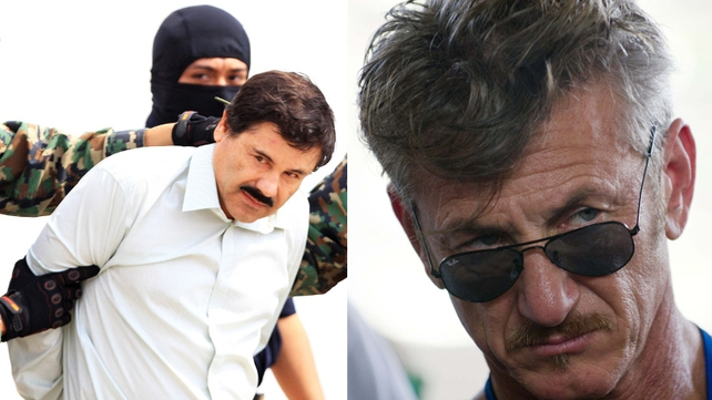 Mexican authorities became aware of the meeting between Sean Penn, a Mexican actress, and Guzman in October