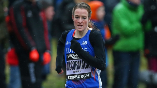 Fionnuala McCormack gave a typically gutsy run in Scotland to finish second
