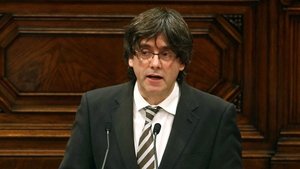 Carles Puigdemont was elected regional president of Catalonia after months of tense negotiations between Catalan parties