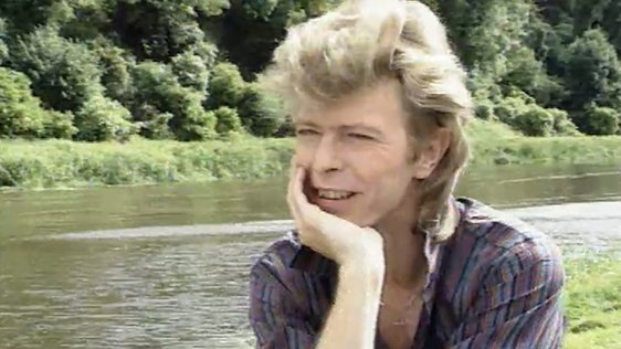 David Bowie at Slane Castle