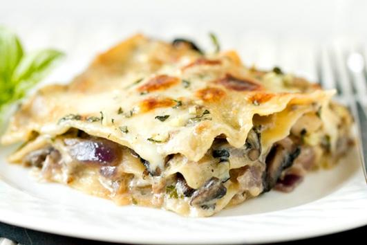 Neven's Recipes - Wild mushroom lasagne +