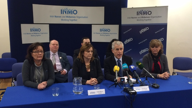 INMO's executive recommended acceptance of the proposoals