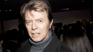 David Bowie - document specifying details of his will filed in New York yesterday (Friday).