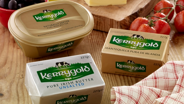 The suspension of the tariffs is good news for Irish brands such as Kerrygold