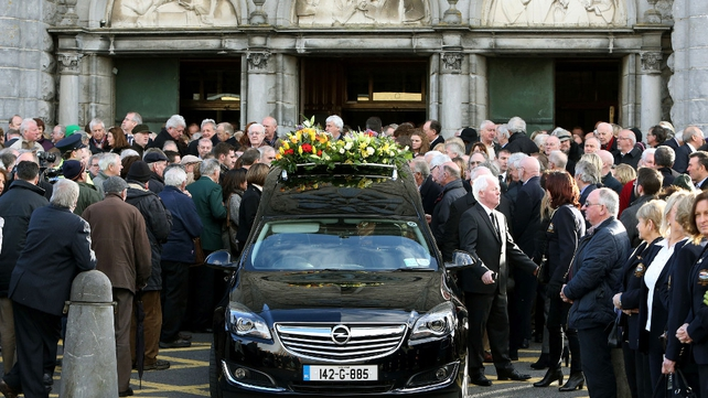 Thousands gathered at Galway Cathedral for the funeral