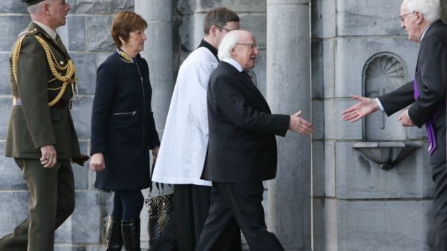 President Michael D Higgins was among those in attendance