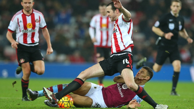John O'Shea missed out on a place in the starting line-up