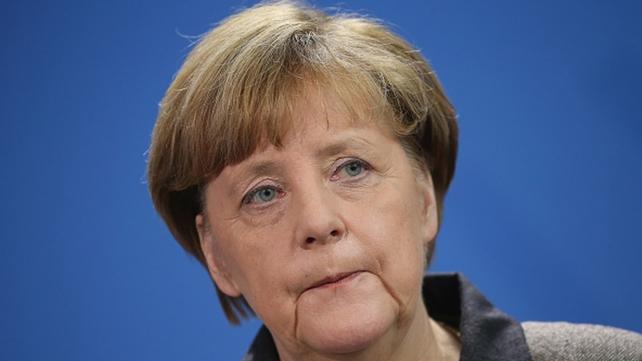 Chancellor Angela Merkel said terrorists are the 'enemies of all free people'