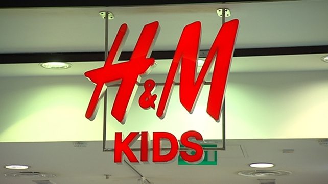 The incident took place in H&M, Dundrum in March 2013