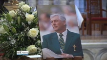 Around 2,000 people attend funeral of golfer Christy O'Connor Jnr