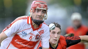 Kevin Hinphey in action during the 2009 Ulster SHC semi-final against Down