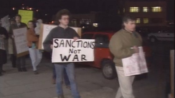Shannon Landing Rights Protest (1991)