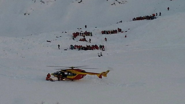 The school group was at the Deux Alpes resort when the avalanche hit