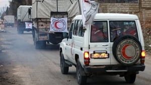 Aid was not allowed to enter the towns until 11 January following reports of fatalities due to starvation in Madaya