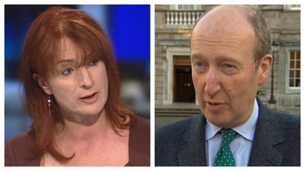 Independents Clare Daly and Shane Ross