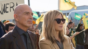 Looking on in cynical disbelief: Billy Bob Thornton and Sandra Bullock in Our Brand is Crisis.