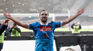 Gonzalo Higuain has been firing in the goals in Serie A this term