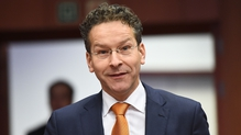 Dutch finance minister and Eurogroup President Jeroen Dijsselbloem hopes agreement can be reached in June