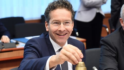 Jeroen Dijsselbloem said the European Stability Mechanism  should assume the responsibilities of the IMF