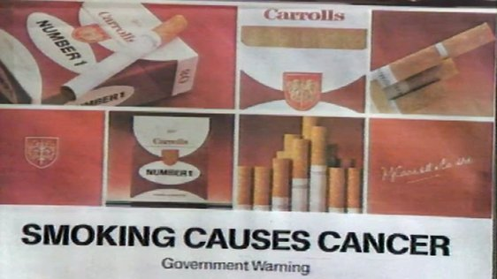 Advertising Regulations on Cigarette Packs (1986)