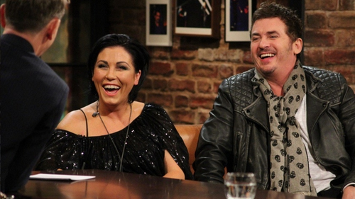 Jessie Wallace and Shane Ritchie on The Late Late Show