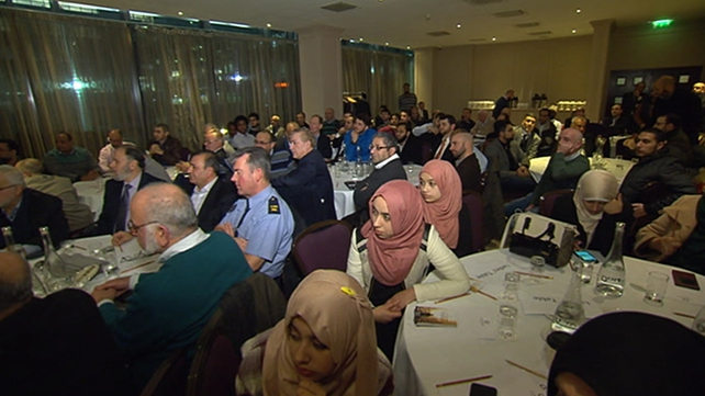 Muslims in South Dublin gathered for a forum with election candidates