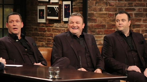 The Late Late Show Extras: The Three Amigos
