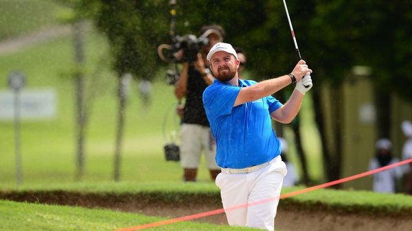 Shane Lowry: 'Good day for the boys in blue again today'