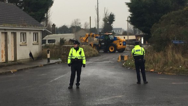 Yesterday, 17 families were evicted from the illegal halting site