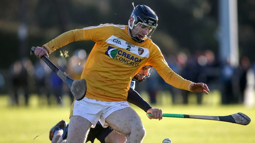 Conor McClelland of Antrim in Walsh Cup action