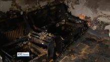 Family say they're lucky to be alive after an arson attack on their home