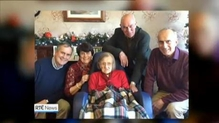 Ireland's oldest citizen has died at the age of 109