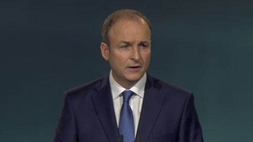 Some 2,000 delegates attended this year's Fianna Fáil Ard Fheis