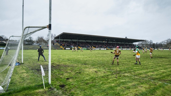 Offaly hosted a young Kilkenny selection in Birr