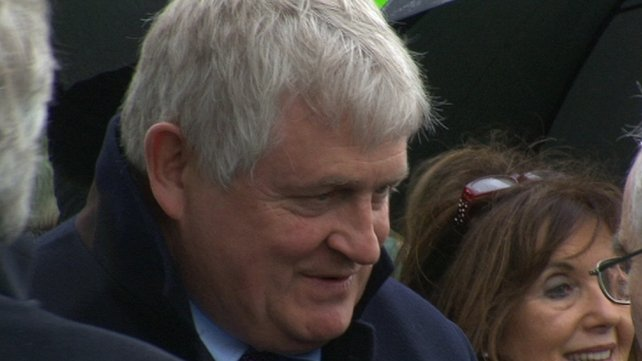 Denis O'Brien was among the mourners