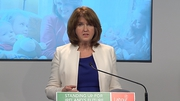 "Joan Burton Fianna Fáil leader Michael Martin has a ""brass neck"" for 'trying to claim the credit for the recovery'"