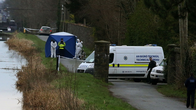 The body was found in a suitcase in a canal last weekend